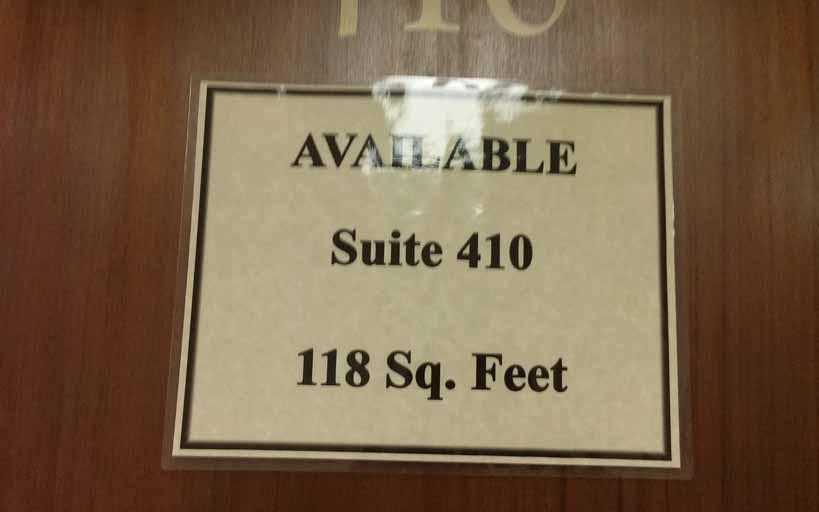 Suite 410- 1